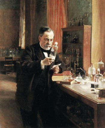 Portrait of Louis Pasteur (1885).