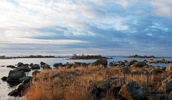 A view of the Bothnian Sea National Park.