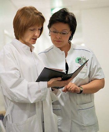 Nurses in Finland are well trained and well qualified.