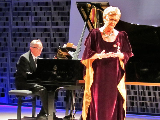 At her 80th-birthday concert at Helsinki Music Centre, Ritva Auvinen (born in 1932) sang an encore together with her older brother Raimo. The melody inspired nostalgia and a standing ovation.