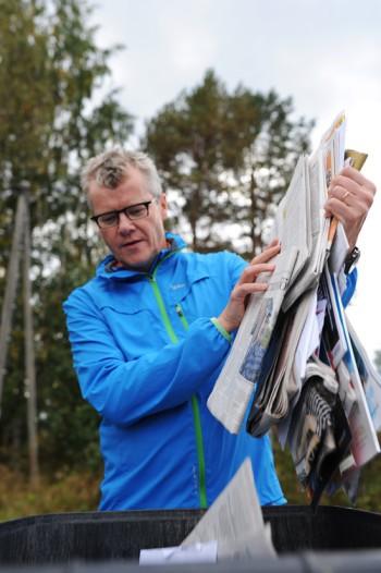 Переработка бумаги в Финляндии, где бумажная промышленность способна повторно использовать материал, имеет долгую историю.