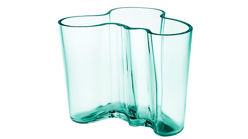 Alvar Aalto's Aalto Vase, also known as the Savoy Vase, is a world-famous piece of glassware and an iconic work of Finnish design. The vase was designed as an entry in a design competition for the Karhula-Iittala glassworks factory in 1936 and will celebrate its 75th anniversary in 2011. (It became known as the Savoy vase because it was included in a design collection created by Alvar Aalto and Aino for the Savoy restaurant, which opened in 1937 in Helsinki.