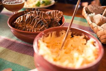 Les galettes de Carélie, appelées aussi « pirogues » de Carélie, sont une spécialité culinaire traditionnelle de cette région.