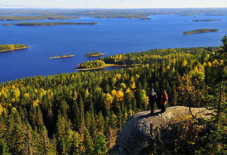 Koli national park is a national park in the North Karelia region.