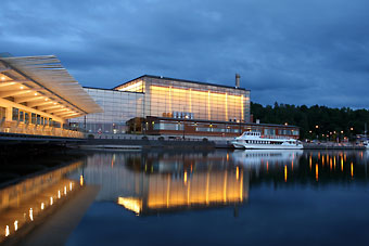 Sibelius Hall in Lahti, whose outstanding acoustics are considered one of the best internationally, is home to the Lahti Symphony Orchestra.