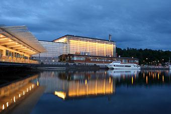 Концертный зал «Сибелиус» в Лахти, чья прекрасная акустика считается одной из лучших в мире, является родным домом для симфонического оркестра Лахти.