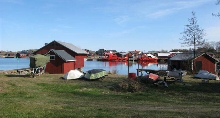 A day of calm weather settles on Utö, Finland's remotest inhabited island, where data is collected above and beneath the waves all year round.