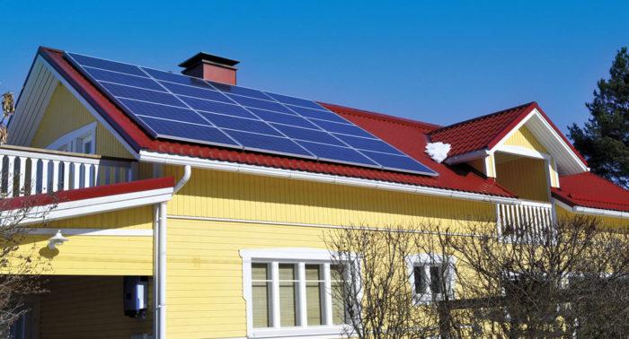 Современные панели генерируют электричество и в пасмурный день.