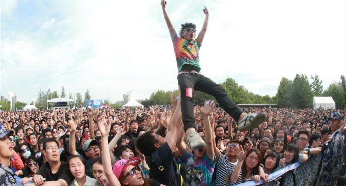 由摩登天空组织的中国最大音乐节品牌