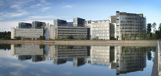 The Nokia head office in Espoo.