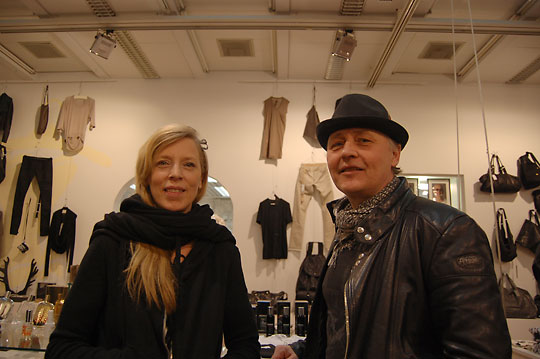 Eeva Vuolasvirta (left) and Anssi Heiskanen created Helsinki10 after a trip to to Japan opened their minds to new aspects of retailing.