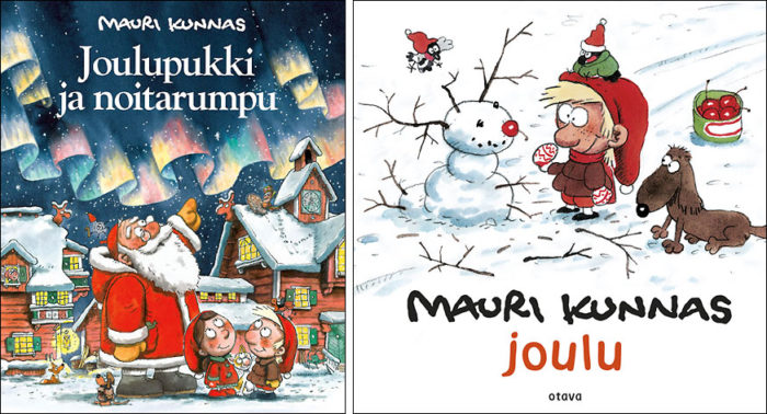 Creator of santa claus thisisfinland santa claus and the magic drum left is a kunnas christmas classic while joulu christmas is a brand new book for very young readers otava publishing m4hsunfo