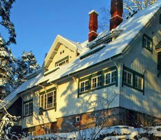 Composer Jean Sibelius, Aino, Ainola, Christmas carols, Järvenpää, Finland
