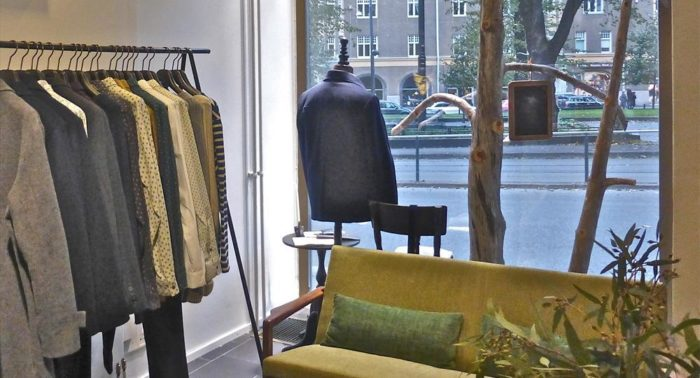Not a lot of items: Samuji's stores stay true to the label's minimalistic philosophy.