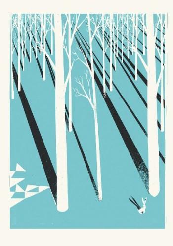 """¿Qué tiene de finlandés mi trabajo? """"El protagonismo de la naturaleza, de los árboles y los bosques"""", dice Pietari Posti."""