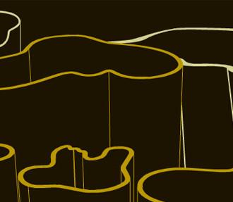 La page d'accueil de notre site consacré à Alvar Aalto fait apparaître l'image du vase Savoy, l'une des créations les plus marquantes du célèbre designer et architecte finlandais.