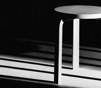 Alvar Aalto, Hocker 60, Design, Architektur, Artek 2nd Cycle, Alvar Aalto Museum, Jyväskylä, Finnland