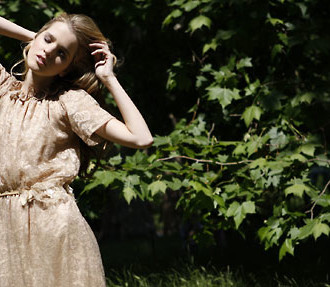 Minna Hepburn, fashion designer, London and Finland