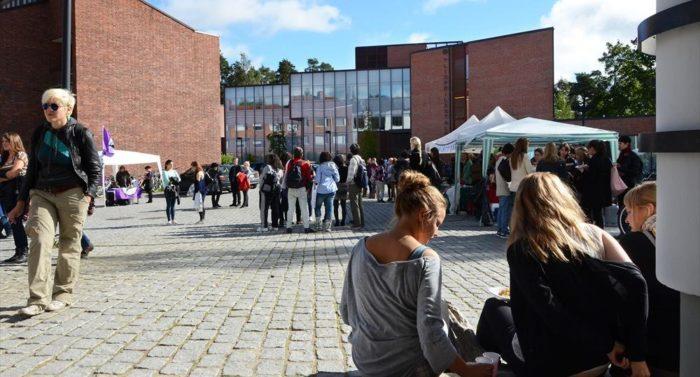 Os sete magníficos institutos finlandeses    Foto: Jussi Jäppinen/Jyväskylä University    A Universidade de Jyväskylä faz parte das 400 melhores do ranking da THE.   A Universidade de Helsinque é o maior e melhor avaliado instituto de educação superior da Finlândia, ocupando a 103ª posição no ranking global da THE, em com destaque para a alta pontuação por citações. A Universidade de Aalto, também sediada em Helsinque, está classificada no grupo que vai de 251 a 275. Uma das universidades mais novas do mundo, a Aalto rapidamente conquistou reconhecimento mundial desde sua criação em 2010, resultado da fusão da Escola de Economia de Helsinque, da Universidade de Tecnologia de Helsinque e da Universidade de Arte e Design de Helsinque.  Em 2014 o programa de MBA Executivo da Universidade de Aalto se destacou no ranking anual do Financial Times, ocupando a 83ª posição no âmbito global e alcançando o topo na região nórdica. O programa de EMBA da Universidade de Aalto também é ministrado em universidades de Singapura, Polônia, Coreia do Sul, Taiwan, China, Indonésia e Irã.  As quatro universidades de Helsinque, unidas às universidades Metropolia e Haaga-Helia de ciências aplicadas, têm mais de 80.000 estudantes matriculados. Isso torna a capital da Finlândia um pólo estudantil repleto de jovens, além de um grande núcleo europeu de educação superior.  As universidades de Tampere, Jyväskylä, Turku e da Finlândia Oriental também estiveram entre os 400 melhores institutos de ensino superior do ranking global da THE.