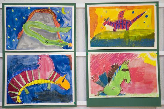 艺术家的视角也是学校生活的一部分