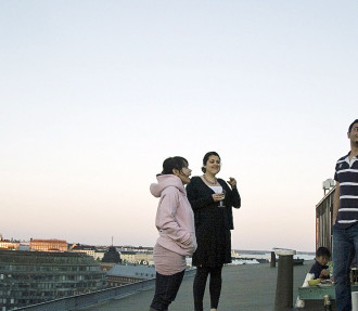 Vue sur les toits d'Helsinki: les études dans le cadre d'échanges, c'est, avant tout, une affaire de perspective.