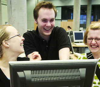 Students praise Finnish universities as a place to acquire solid building blocks for a future career, and note that Finns are not as shy as the stereotypes might imply.