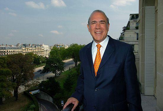 Ángel Gurria, Secretario General de la OCDE.