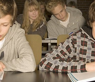 Finnish teenagers won high marks for reading comprehension. Photo: Anna Dammert
