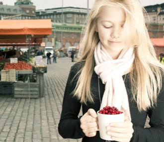 Финляндия, ягоды Финляндия, ягоды в Финляндии, природа Финляндии
