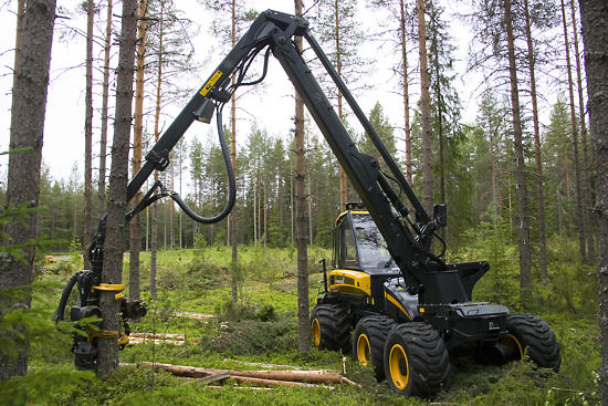 Finland is Europe's most forested country, with more than 70% of the land covered with forests. About 17,000 km2 of forest is strictly protected. Finland's forest resources are increasing as the natural growth of forests more than compensates for the amounts of timber logged.