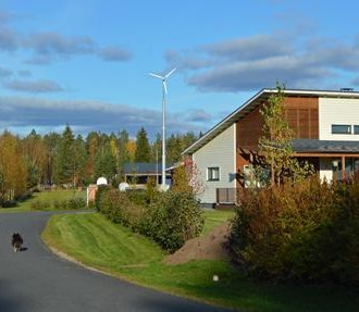 northern Finland, ecovillage, biomass, woodchips, off-grid, self-sufficient, Volter, Kempele, Oulu