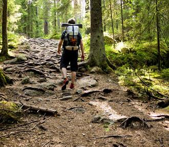 Finnisches Naturzentrum Haltia, Nuuksio-Nationalpark, Wälder, Seen, Wildnis, Ökobau, Kalevala, Helsinki, Finnland