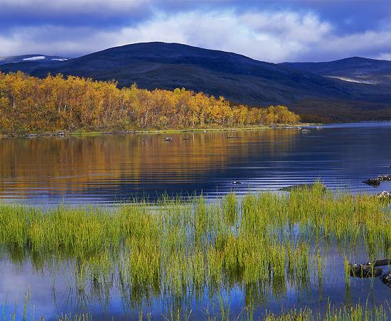 左图: © 芬兰推广委员会/佩卡•鲁果拉   右图: © 芬兰旅游局       拉普兰地区的旅游会对环境造成负担,但同时也能够鼓励环境保护,因为大多数游客是被这片地区没有受到污染的大自然吸引过来的。