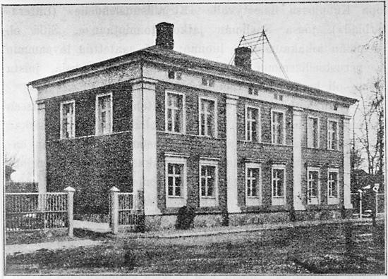 The school in Kuopio, E. Finland, where Snellman taught.