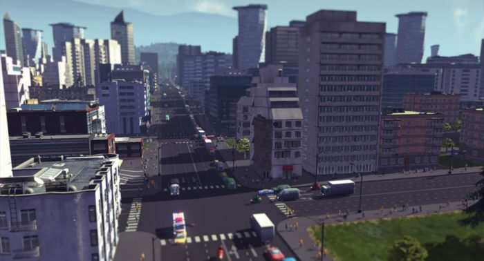 "Screenshot: Colossal Order In ""Cities: Skylines,"" players build their own cities."