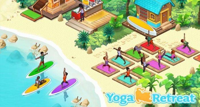 Yoga Retreat включает в себя аспекты управления бизнесом и йоги.
