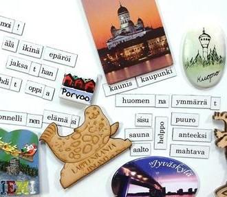 Aprender el finés como segunda lengua, libros de texto, extranjeros, inmigrantes, Finlandia, Una Gramática del Finés, Libro básico del finés, Finés para extranjeros, Finés para hablantes de alemán