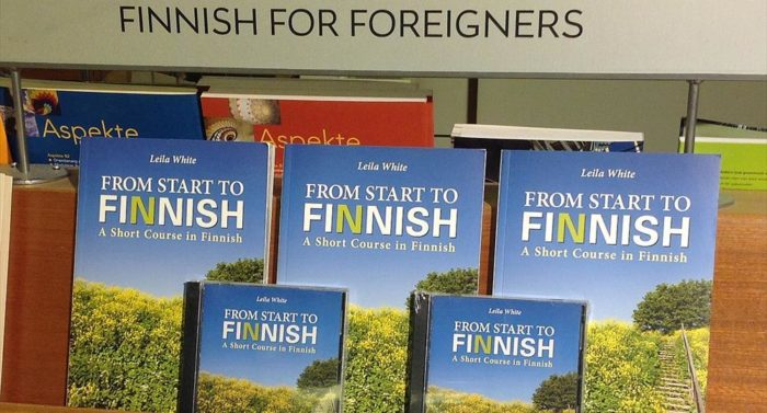 """Start to Finnish"" contains useful dialogues and some handy colloquial words."
