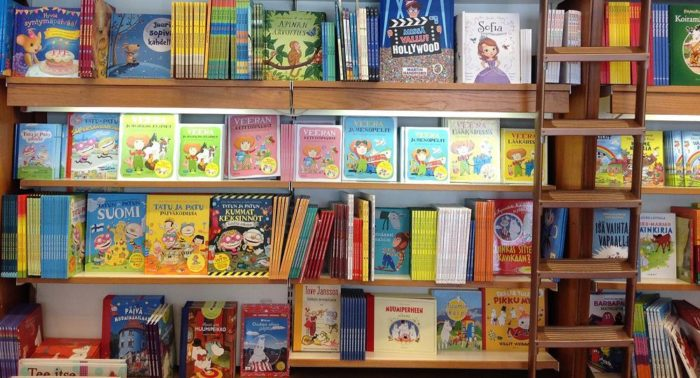 Kids' books are fun and colourful, and you can learn a surprising amount of Finnish from them.