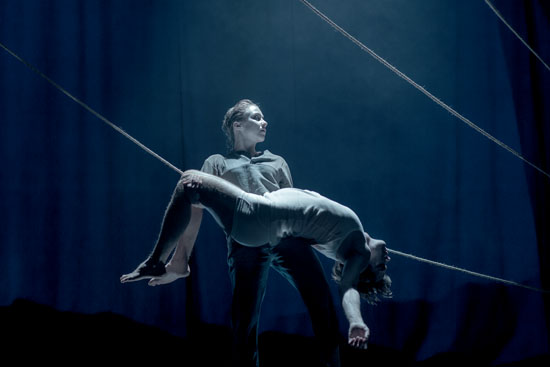 Finnish contemporary circus company WHS is one act that non-Finns can enjoy without any translation.