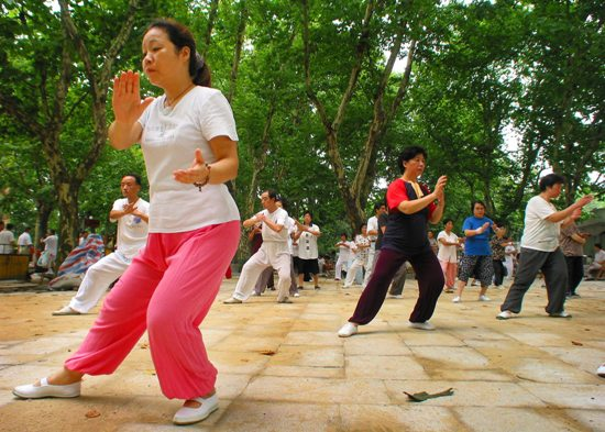 Tai chi is a word recently imported to Finland from Asia.