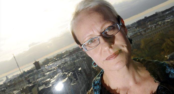 Autorin, Drehbuchautorin und Comic-Texterin, Johanna Sinisalo, schuf den Genre-Begriff Finnish Weird.