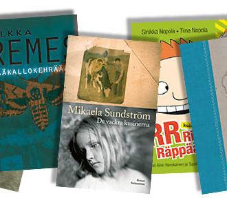 Différents exemples de l'essor du paysage littéraire finlandais : Puhdistus (Purge) de Sofi Oksanen, Pääkallokehrääjä (Death's-head Moth) d'Ilkka Remes, De vackra kusinerna (The Beautiful Cousins) de Mikaela Sundström, Risto Räppääjä (Ricky Rapper) de Sinikka et Tiina Nopola, et Lokikirja (Logbook) de Pirkko Saisio.