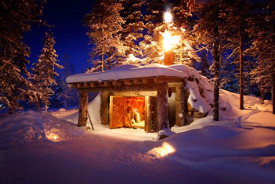 |||照片: 圣诞老人度假村