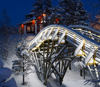 Santa's Resort in Lapland, Finland
