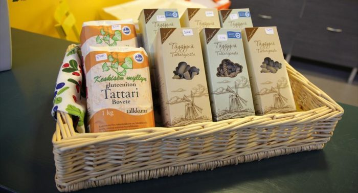This locally made pasta in Tampere Market Hall caters to those who crave gluten-free cuisine.