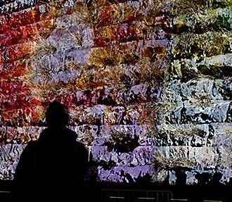 Lux Helsinki, light show, slideshow, Helsinki, Finland