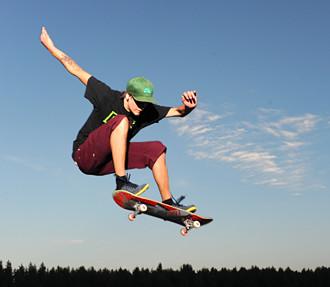urban, city, sport, skateboarding, Kokkola, Finland