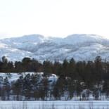 Холмы из хлопка. «Я не знаю, как называются эти горы. Они расположены почти на границе с Норвегией, возле деревни Каригасниеми на севере Финляндии. Я сфотографировал их в лучах дневного солнца».