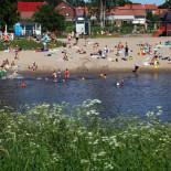 Один из многочисленных песчаных пляжей – пляж в Тапанинвайнио – прекрасное место для отдыха в знойный летний день.